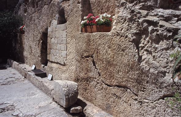hvor ble jesus korsfestet