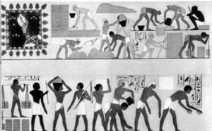 Og Herren sa: Jeg har sett mitt folks nød i Egypten, og jeg har hørt deres klagerop over arbeidsfogdene; jeg vet hvad de lider.  8 Og nu er jeg steget ned for å utfri dem av egypternes hånd og for å føre dem op fra dette land til et godt og vidtstrakt land, til et land som flyter med melk og honning, det land hvor kana'anittene bor og hetittene og amorittene og ferisittene og hevittene og jebusittene.  9 Nu er Israels barns skrik nådd op til mig, og jeg har også sett hvorledes egypterne mishandler dem
