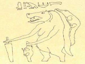 Hyppotalamus, guden for fødende kvinner